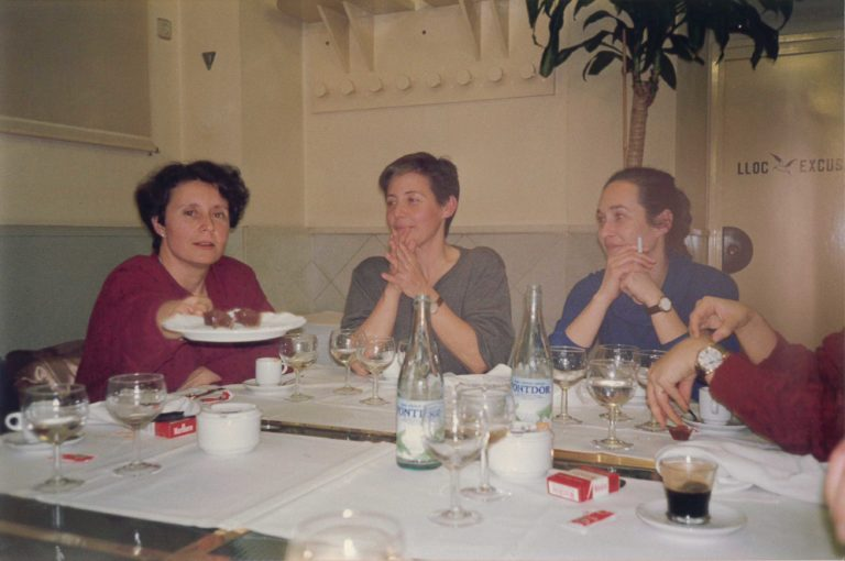 Marta Selva, Anna Solà i Raquel Aranda