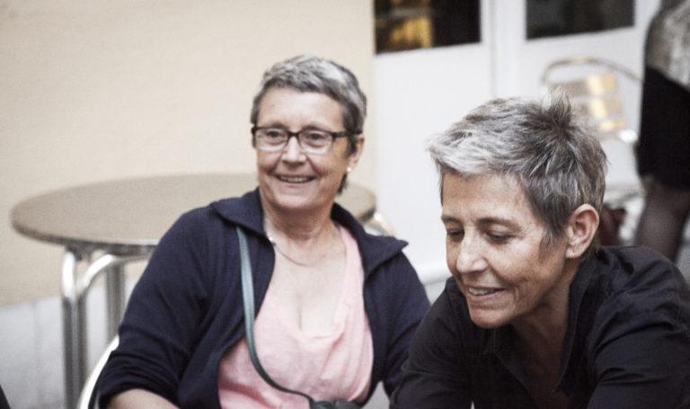 Marta Selva i Anna Solà a la Bonne.