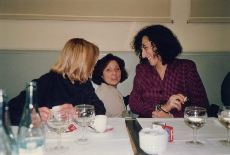 Mercè Coll, Araceli Rilova i Lourdes Labara